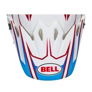 Visor casco Bell 9 Adventure Peak MX - White