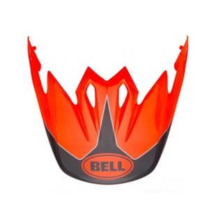 Visor casco Bell 9 Adventure Peak MX - Fluo Orange