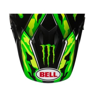 Bell 9 Adventure Peak MX Helmvizier - Green Camo