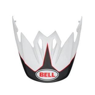 Visor casco Bell 9 Adventure Peak MX - Black White