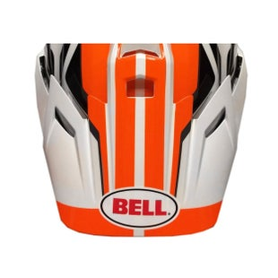 Bell 9 Adventure Peak MX Helmvizier - Orange White