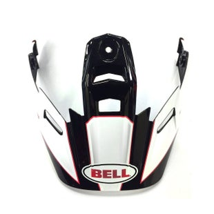 Bell 9 Adventure Peak MX Helmvizier - Black White