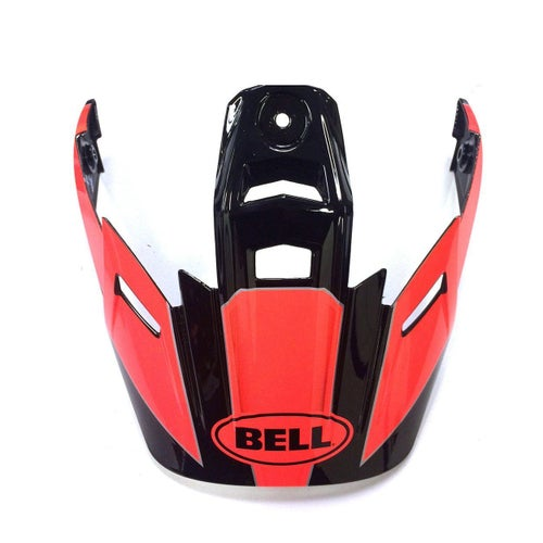 Bell 9 Adventure Peak MX Helmet Peak - Flo Orange
