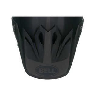 Bell Replacement Moto 9 Helmet Peak - Intake Matte Black