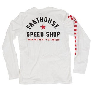 Fasthouse Star Long Sleeve T-Shirt - White
