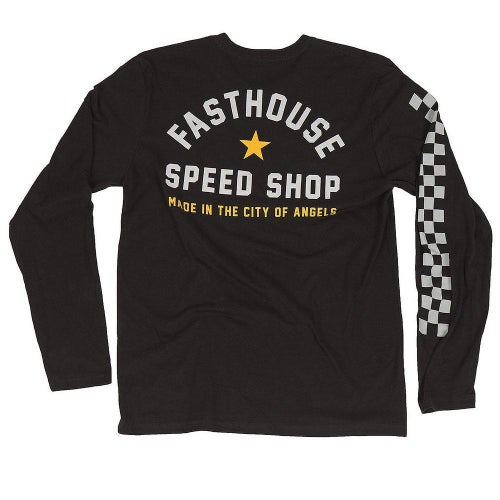 Fasthouse Star Long Sleeve T-Shirt - Black