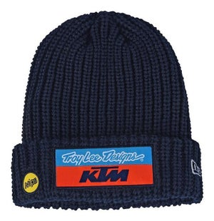 Troy Lee TEAM KTM BEANIE NAVY Beanie - TROY LEE DESIGNS TEAM KTM BEANIE NAVY