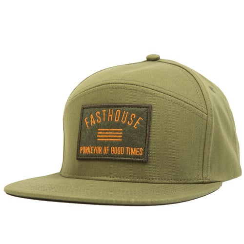Fasthouse Purveyor Split Panel Cap - Olive