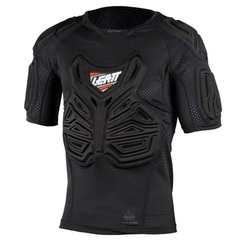 Leatt YOUTH MX and Enduro Roost Tee Body Protection - Black