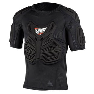 Leatt MX and Enduro Roost Tee Body Protection - Black