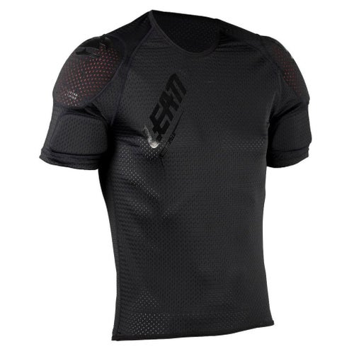 Leatt 3DF AirFit Lite MX Motocross and Enduro Shoulder Tee Body Protection - Black