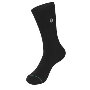 Seven Casual 181 Brand Crew Socks - Black