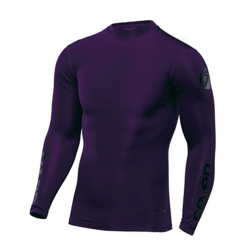 Seven 19.1 Zero Compression Motocross Jerseys - Purple