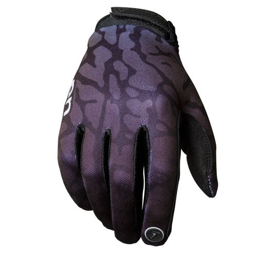 Seven 19.1 Annex Skinned Youth Youth Motocross Gloves - Black