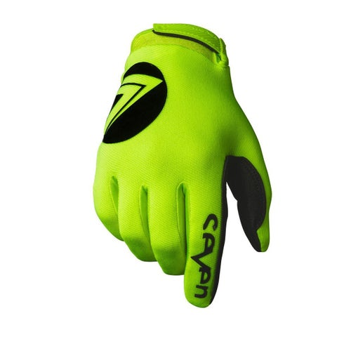 Seven 19.1 Annex 7 Dot Youth Youth Motocross Gloves - Flo Yellow