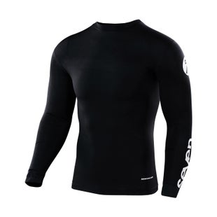 Seven 19.1 Zero Youth Compression Motocross Jerseys - Black