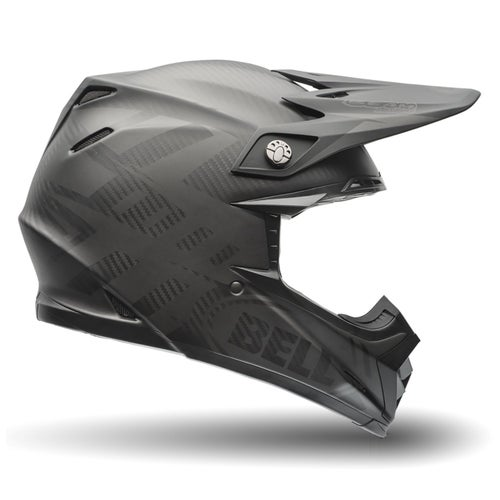 Bell Moto-9 Flex Syndrome Motocross Helmet - Matte Black