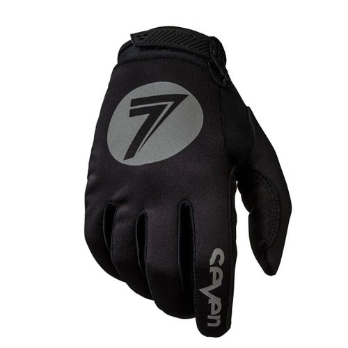 Seven 19.1 Annex Cold Weather Motocross Gloves - Black