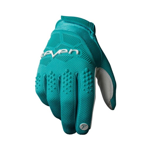 Seven 19.1 Rival Motocross Gloves - Aqua