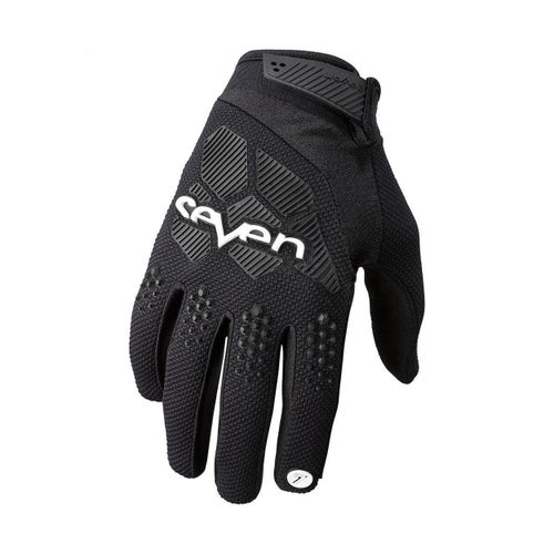 Seven 19.1 Rival Motocross Gloves - Black