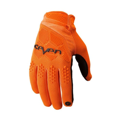 Seven 19.1 Rival Motocross Gloves - Flo Orange