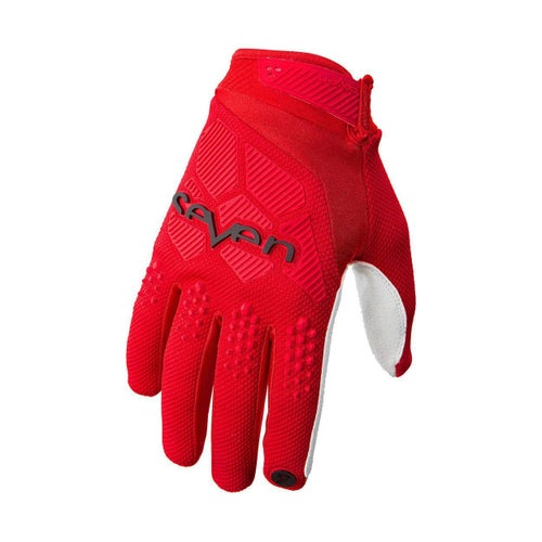 Seven 19.1 Rival Motocross Gloves - Red