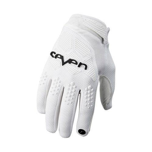 Seven 19.1 Rival Motocross Gloves - White