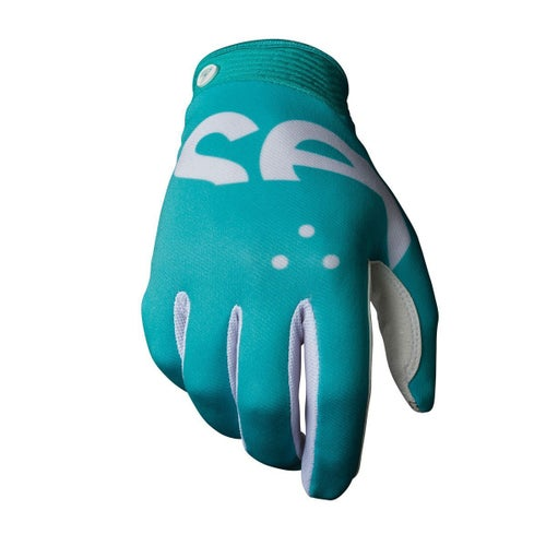 Seven 19.1 Zero Crossover Motocross Gloves - Aqua