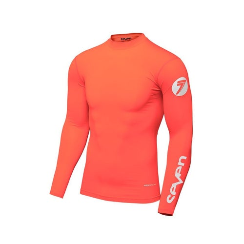 Seven 19.1 Zero Compression Motocross Jerseys - Coral