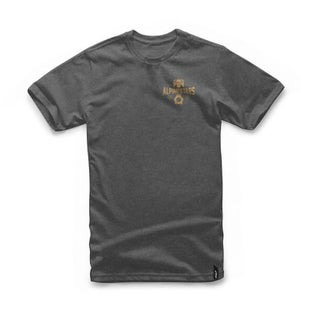 Alpinestars Andres Short Sleeve T-Shirt - Charcoal Heather
