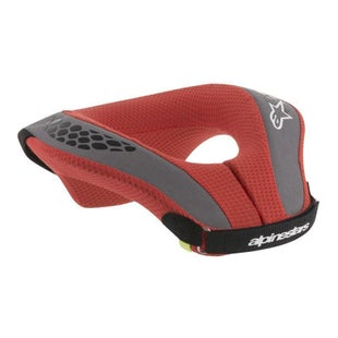 Alpinestars Sequence Youth Neck Brace - Black Red