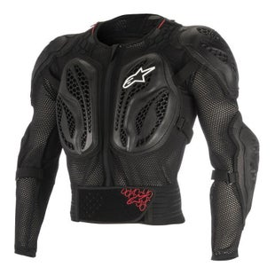 Alpinestars Youth Bionic Action Jacket Body Protection - Black Red