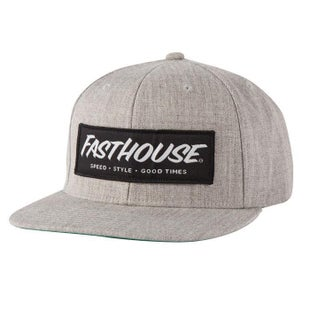 Fasthouse Adult Speed Style Good Times Cap - Grey