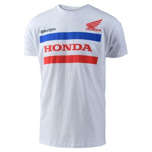 Troy Lee Honda Kurzarm-T-Shirt - White