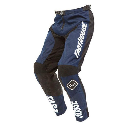 Fasthouse Grindhouse Motocross Pants - Navy Blue