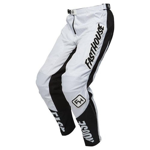 Fasthouse Grindhouse Motocross Pants - White