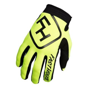 Fasthouse Speed Style Motocross Gloves - Yellow