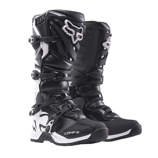 Fox Racing Comp 5 Motocross Boots - Black White