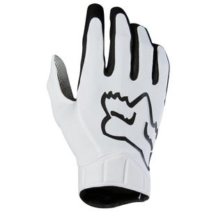Fox Racing Airline Race Motocross Gloves - White
