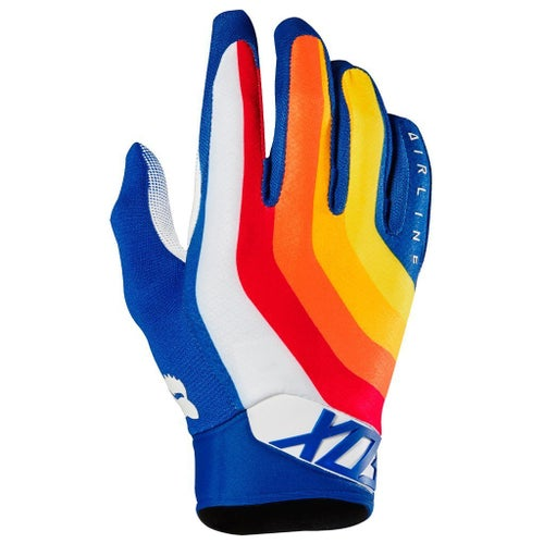Fox Racing Airline Draftr Motocross Gloves - Blue