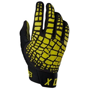 Fox Racing 360 Grav Motocross Gloves - Dark Yellow