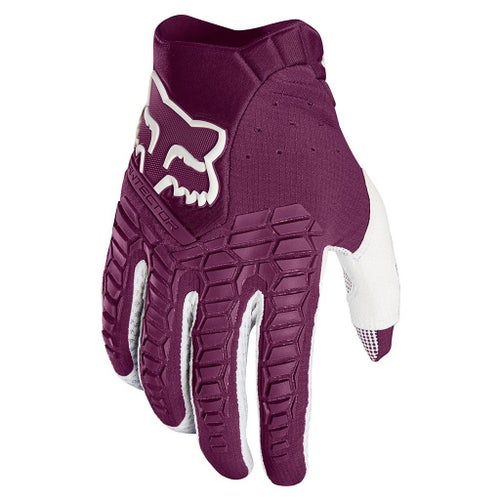 Fox Racing Pawtector Motocross Gloves - Purple