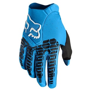 Fox Racing Pawtector Motocross Gloves - Blue