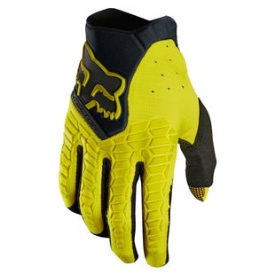Fox Racing Pawtector Motocross Gloves - Dark Yellow