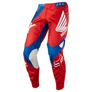 Fox Racing 360 Honda Motocross Pants - Red