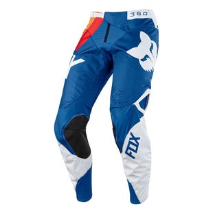 Fox Racing 360 Draftr Motocross Pants - Blue