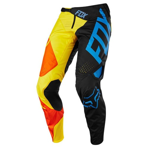 Fox Racing 360 Preme Motocross Pants - Black Yellow