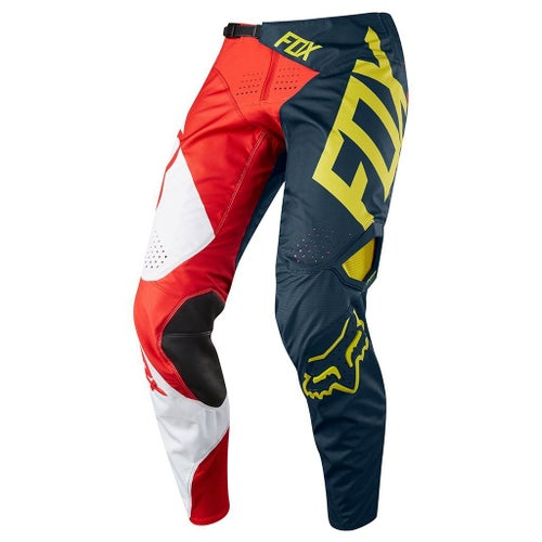 Fox Racing 360 Preme Motocross Pants - Navy Red