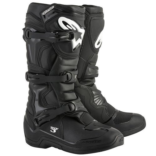 Alpinestars Tech 3 Motocross Boots - Black