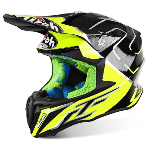 Kask MX Airoh Tony Cairoli Mantova - Yellow